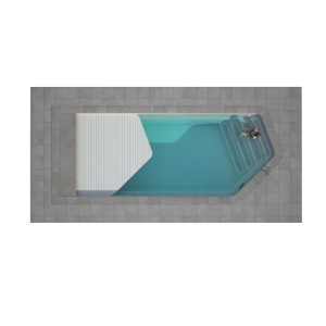 Composite pool ANDAMAN with LUXE intergated