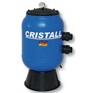 Cristall filtras 500x870mm, 10m³/h, 1 1/2""