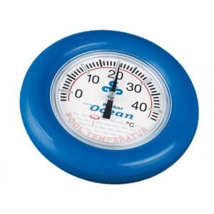 Apvalus plaukiojantis termometras