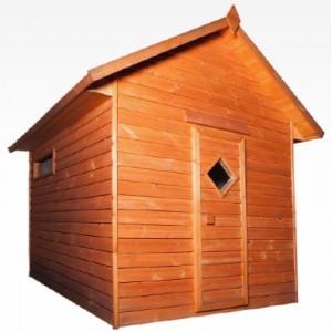 Outdoor comfort sauna for 6 peoples
