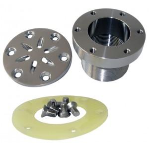 Purkštukas cirkuliacinis pagamintas iš nerūdijančio plieno AISI 316L