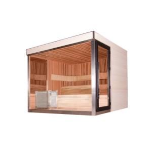 Sauna Outdoor de luxe