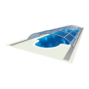 Elegant NEO – low profile pool cover