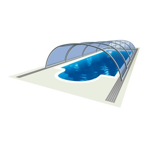 Tropea – middle profile pool cover