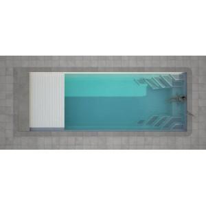 Stiklo pluošto baseinas WANAKA 750 su uždengimu