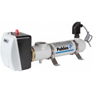 Electric swimming pool heater  9 kW in titanium/Nic-Tech