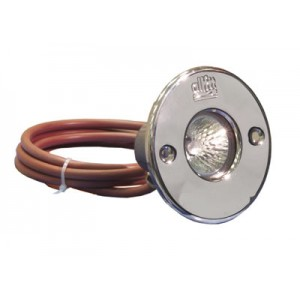 Swimming pool light 50W / 12V, cabel 2 x 1.5mm2 (2.0m)