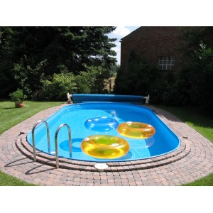 Ovalo formos karkasinio baseino kevalas