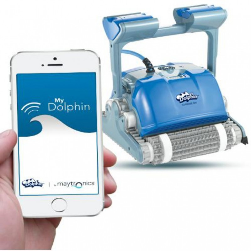 Dolphin m4 automatic pool cleaner supreme - Robot dolphin m400 ...