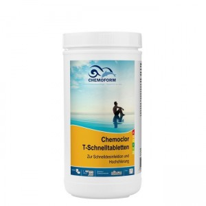 Chloras greitai tirpstantis Chemoform 20 gr tabletės