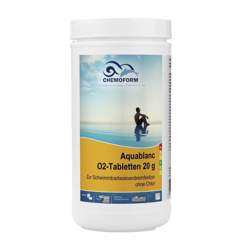 Active Oxygen Tablets Chemoform 20gr 1kg