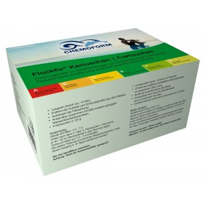 Flocculant in cartridges Chemoform 8 vnt., 1kg