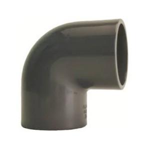 PVC-U alkūnė d16-90°