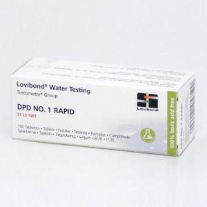 Testerio tabletės DPD 1 (chlorui), 10tab., 1 lap.