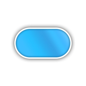 Ovalo formos plastikinis baseinas 2.9-9.0